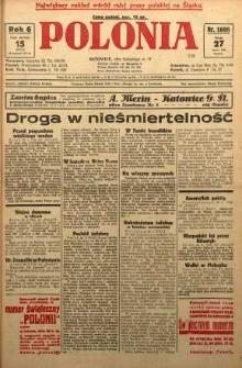 Polonia, 1929, R. 6, nr 1608