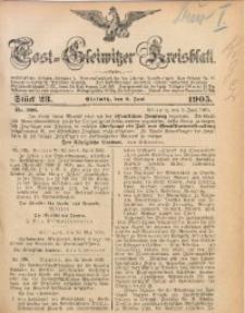 Tost-Gleiwitzer Kreisblatt, 1905, Jg. 63, St. 23