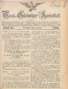 Tost-Gleiwitzer Kreisblatt, 1905, Jg. 63, St. 32