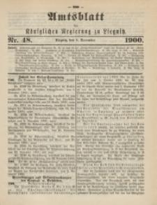 Amts-Blatt der Königlichen Regierung zu Liegnitz, 1900, Jg. 90, Nr. 48