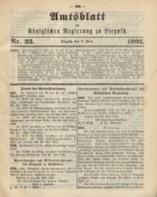 Amts-Blatt der Königlichen Regierung zu Liegnitz, 1901, Jg. 91, Nr. 23
