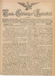 Tost-Gleiwitzer Kreisblatt, 1907, Jg. 65, St. 24