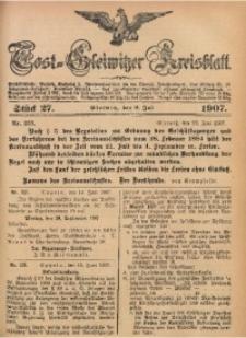 Tost-Gleiwitzer Kreisblatt, 1907, Jg. 65, St. 27