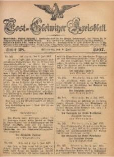 Tost-Gleiwitzer Kreisblatt, 1907, Jg. 65, St. 28