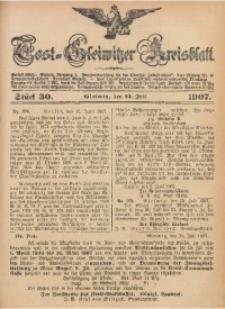 Tost-Gleiwitzer Kreisblatt, 1907, Jg. 65, St. 30