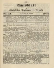 Amts-Blatt der Königlichen Regierung zu Liegnitz, 1902, Jg. 92, Nr. 42