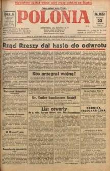 Polonia, 1929, R. 6, nr 1632