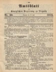 Amts-Blatt der Königlichen Regierung zu Liegnitz, 1903, Jg. 93, Nr. 29