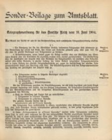 Sonder-Beilage zum Amtsblatt