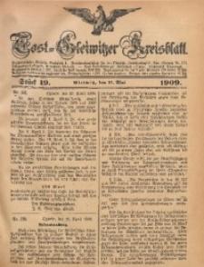 Tost-Gleiwitzer Kreisblatt, 1909, Jg. 67, St. 19