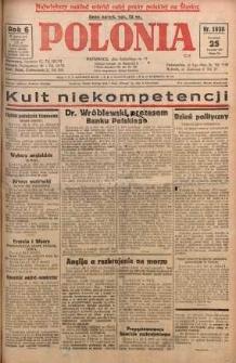 Polonia, 1929, R. 6, nr 1635