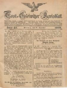 Tost-Gleiwitzer Kreisblatt, 1909, Jg. 67, St. 50