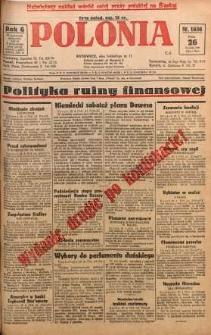 Polonia, 1929, R. 6, nr 1636