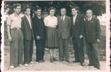 Klisino. Grupowa fotografia uczniów Liceum Rolniczo-Spółdzielczego.