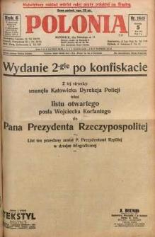 Polonia, 1929, R. 6, nr 1645