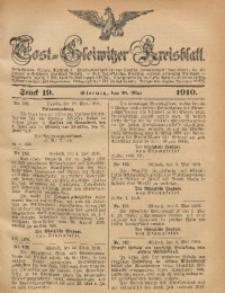 Tost-Gleiwitzer Kreisblatt, 1910, Jg. 68, St. 19