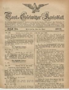 Tost-Gleiwitzer Kreisblatt, 1910, Jg. 68, St. 24