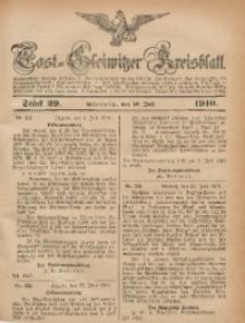 Tost-Gleiwitzer Kreisblatt, 1910, Jg. 68, St. 29