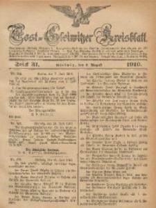 Tost-Gleiwitzer Kreisblatt, 1910, Jg. 68, St. 31