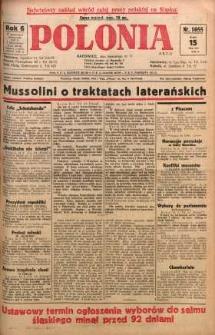Polonia, 1929, R. 6, nr 1655
