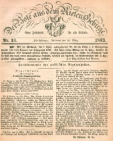Der Bote aus dem Riesen-Gebirge, 1863, Jg. 51, Nr. 24