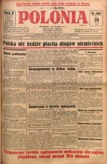 Polonia, 1929, R. 6, nr 1661