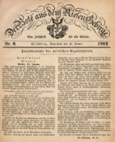 Der Bote aus dem Riesen-Gebirge, 1862, Jg. 50, Nr. 6