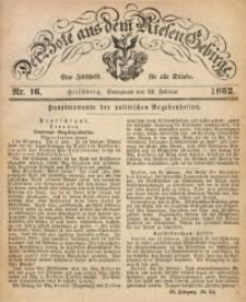 Der Bote aus dem Riesen-Gebirge, 1862, Jg. 50, Nr. 16