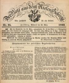 Der Bote aus dem Riesen-Gebirge, 1862, Jg. 50, Nr. 25