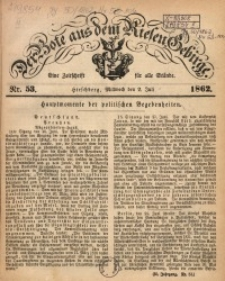 Der Bote aus dem Riesen-Gebirge, 1862, Jg. 50, Nr. 53