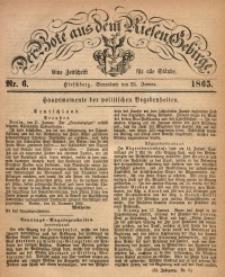 Der Bote aus dem Riesen-Gebirge, 1865, Jg. 53, Nr. 6