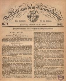 Der Bote aus dem Riesen-Gebirge, 1865, Jg. 53, Nr. 7