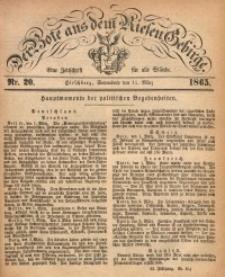 Der Bote aus dem Riesen-Gebirge, 1865, Jg. 53, Nr. 20