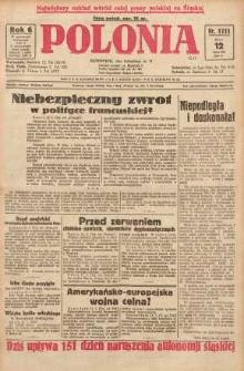 Polonia, 1929, R. 6, nr 1711