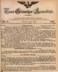 Tost-Gleiwitzer Kreisblatt, 1891, Jg. 49, St. 13