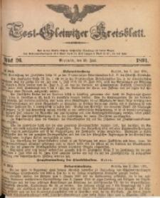 Tost-Gleiwitzer Kreisblatt, 1891, Jg. 49, St. 26