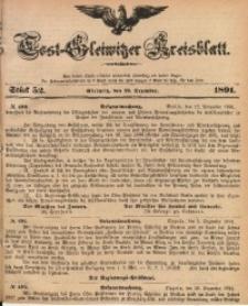 Tost-Gleiwitzer Kreisblatt, 1891, Jg. 49, St. 52