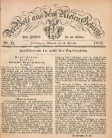 Der Bote aus dem Riesen-Gebirge, 1866, Jg. 54, Nr. 13