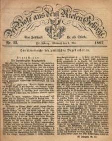 Der Bote aus dem Riesen-Gebirge, 1867, Jg. 55, Nr. 35