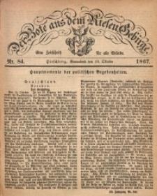 Der Bote aus dem Riesen-Gebirge, 1867, Jg. 54, Nr. 84