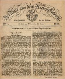 Der Bote aus dem Riesen-Gebirge, 1868, Jg. 56, Nr. 7