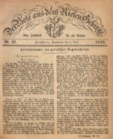 Der Bote aus dem Riesen-Gebirge, 1868, Jg. 56, Nr. 28