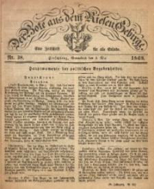 Der Bote aus dem Riesen-Gebirge, 1868, Jg. 56, Nr. 38