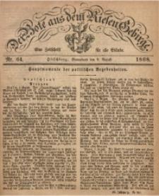 Der Bote aus dem Riesen-Gebirge, 1868, Jg. 56, Nr. 64