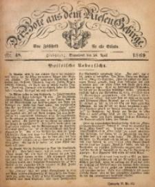 Der Bote aus dem Riesen-Gebirge, 1869, Jg. 57, Nr. 48