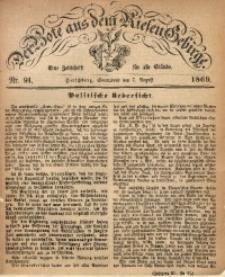 Der Bote aus dem Riesen-Gebirge, 1869, Jg. 57, Nr. 91