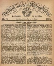 Der Bote aus dem Riesen-Gebirge, 1869, Jg. 57, Nr. 96
