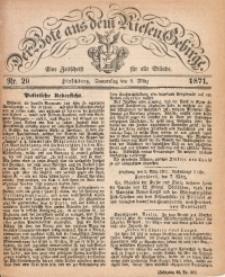 Der Bote aus dem Riesen-Gebirge, 1871, Jg. 59, Nr. 29