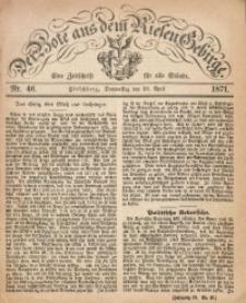 Der Bote aus dem Riesen-Gebirge, 1871, Jg. 59, Nr. 46