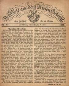 Der Bote aus dem Riesen-Gebirge, 1871, Jg. 59, Nr. 65